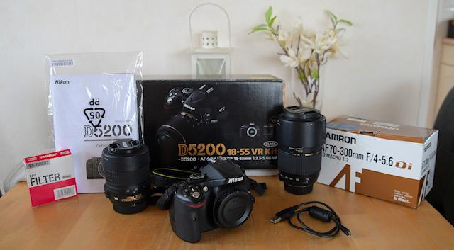 Te koop: Nikon 5200 fotocamera